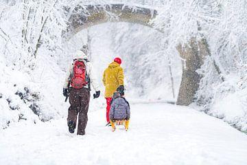 Schneewanderung 27-02-2020 von Etienne Hessels