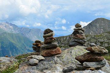Landscape Austria Stones van Kunst van Karin