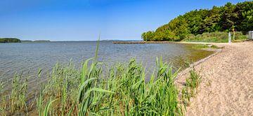 Lagune in Lietzow op het eiland Rügen, natuurlijk strand van GH Foto & Artdesign