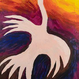 Feuervogel von Ivonne Sommer