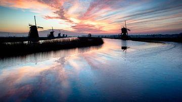 Kinderdijk2 van Christian Vermeer