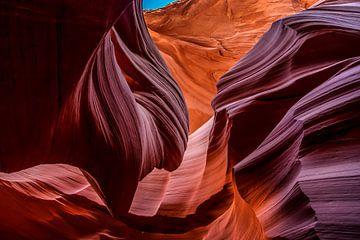 L'Antelope Canyon en Amérique sur Bas Fransen