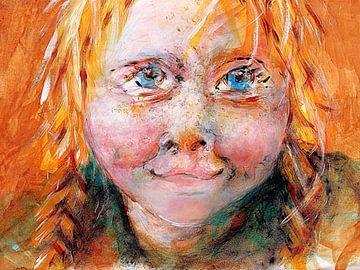 Das Mädchen mit den roten Haaren von Anita Snik-Broeken