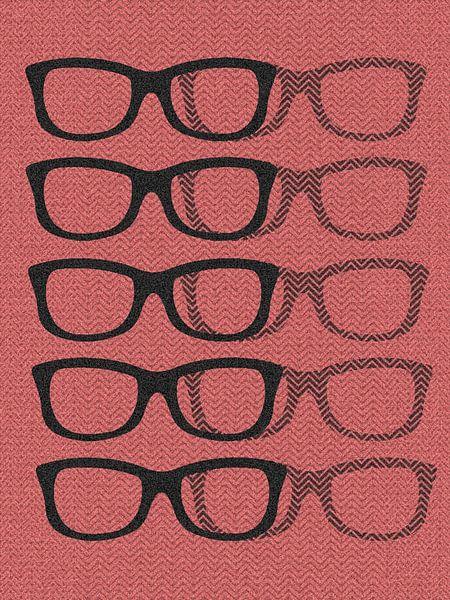Glasses Black & Softpink van Mr and Mrs Quirynen