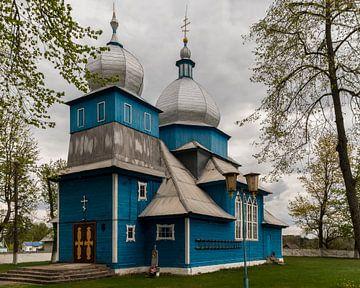 Blaue Kirche, Weißrussland von Adelheid Smitt