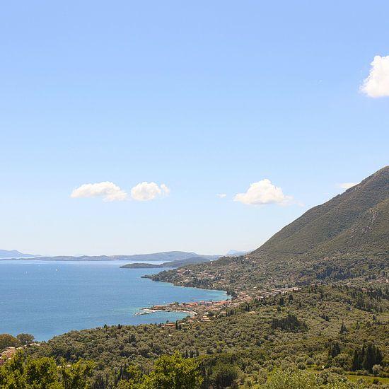 Het dorp Nikiana / Griekenland