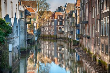 Cityview Dordrecht, The Netherlands van Roland de Zeeuw fotografie