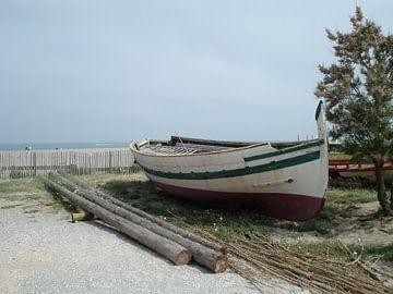Old boat von Elsemieke Afman