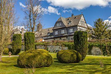 Park und Schloss Friedrichshof in Kronberg van Christian Müringer