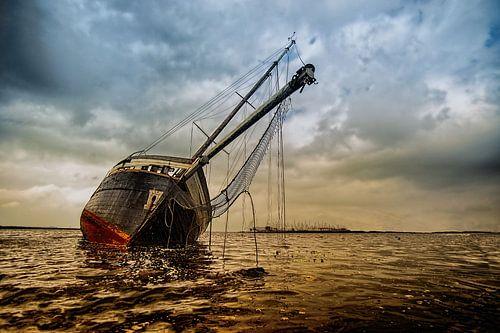 Het spookschip van Lemmer van John Dekker