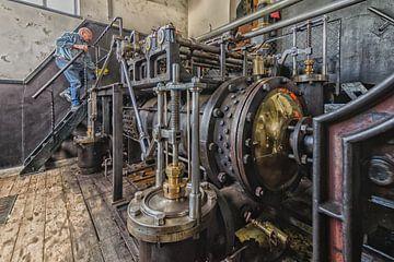 Dampfpumpstation von Frank van Middelkoop