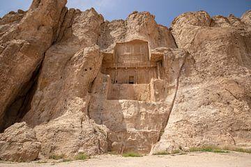 Koningsgraf in het Necropolis Iran van Marcel Alsemgeest