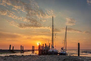 Der 'kleine Hafen von Sil' bei De Cocksdorp von Robert Van den Bragt