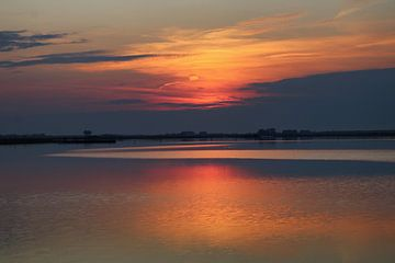Zonsondergang bij het Veerse meer van Verhagefotografie