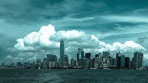 Skyline van Manhattan, New York City