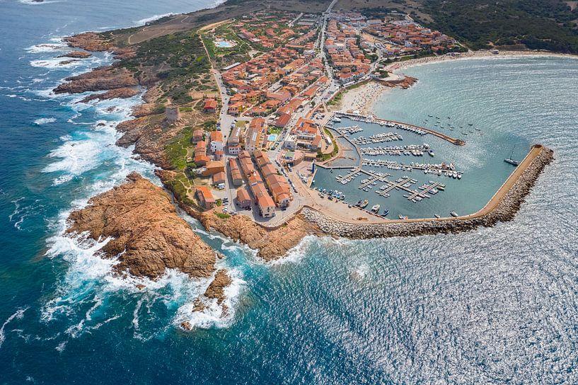 Isola Rossa, Sardinië van Bernardine de Laat