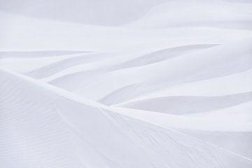 Abstracte, fijne kunst, een beeld van de woestijnzand muur. van Rosa Frei