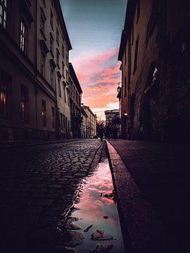 Purple Sky von Iman Azizi