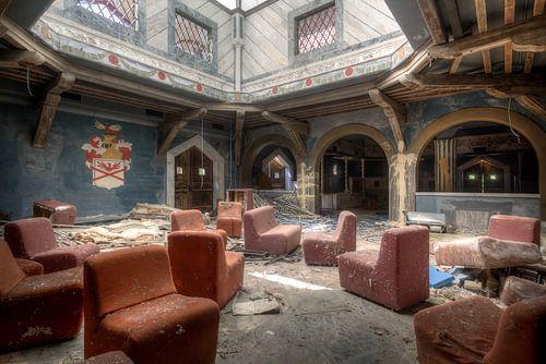 Diskothek – verlassener Nachtklub, Italien von Roman Robroek