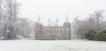 Burg im Schnee von Jeannette Kliebisch
