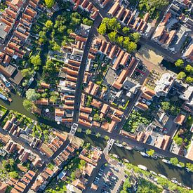 Luchtfoto Edam van Jeroen Kleiberg