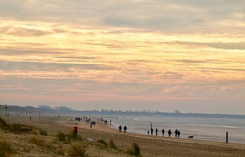Une promenade un dimanche matin d'hiver sur Sven Zoeteman