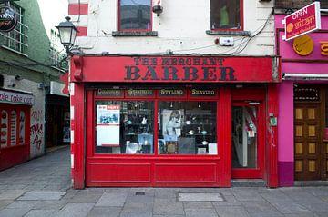 Kapper in het centrum van Dublin van