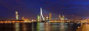 Rotterdam, Erasmusbrug en Kop van Zuid van