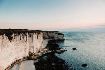 de prachtige krijtrotsen aan de franse kust van Lindy Schenk-Smit