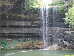 Waterval bij Hamiltons Pool