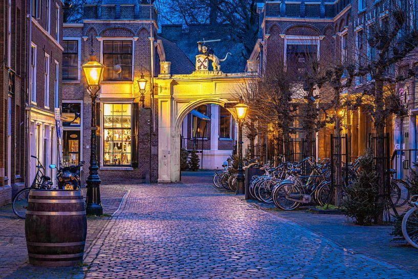 Leiden in Lockdown: Burg-Tor von Carla Matthee