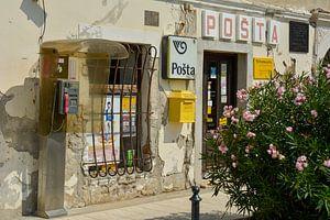 Postkantoor Kroatië van Rogier Vermeulen