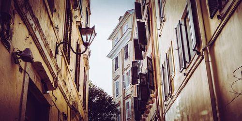 straten in een oude griekse stad van Jonathan van Rijn