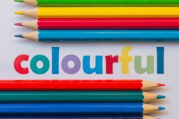 Colourful van