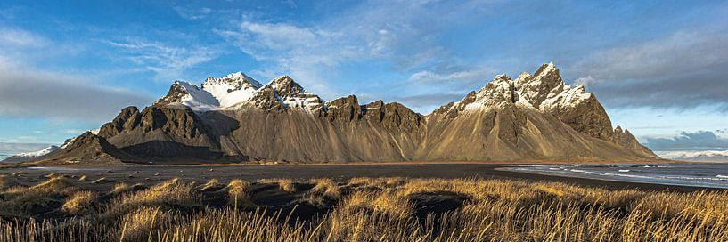 Vestrahorn Stokksnes IJsland van William Linders