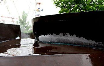 groeiend ijs op de fontein 1 van joyce kool