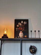 Photo de nos clients: Blompotje, Judith Leyster - 1654 sur Het Archief, sur toile