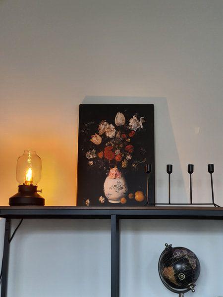 Kundenfoto: Blompotje, Judith Leyster - 1654 von Het Archief, auf leinwand