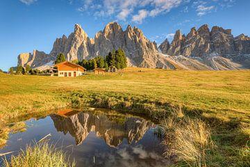 Bei der Geisleralm in Südtirol von Michael Valjak