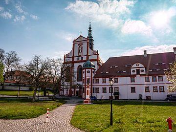 Klooster St. Marienstern in Saksen van Animaflora PicsStock