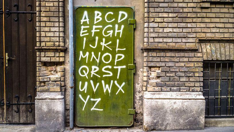 Alfabet van rosstek ®