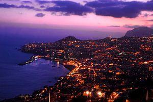 Funchal 's nachts van