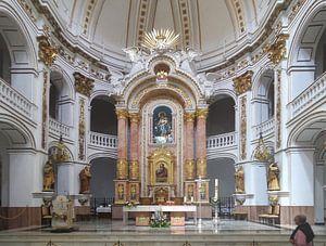 Altea Kerk interieur van