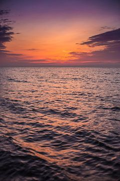 Noordzee zonsondergang