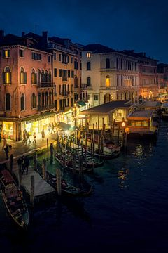 Venice bei Nacht 3 von Iman Azizi