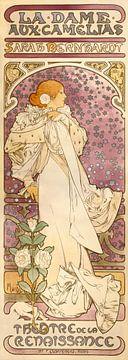 La Dame aux Camélias - Alphonse Mucha -1896