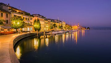 Sonnenuntergang Salo, Gardasee, Italien