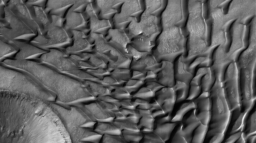 Dunes on Mars van Jacky
