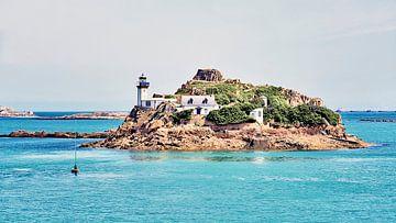 Insel mit Leuchtturm von BDG pics
