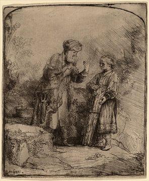 Abraham und Isaak von